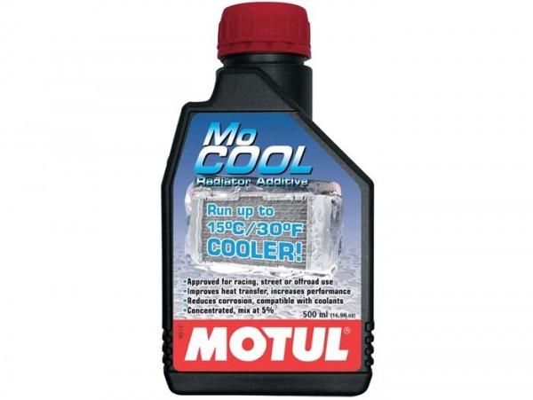 Kühlerflüssigkeits-Additiv Konzentrat -MOTUL MoCOOL- senkt Kühlmitteltemperatur um bis zu 15°C - 500ml