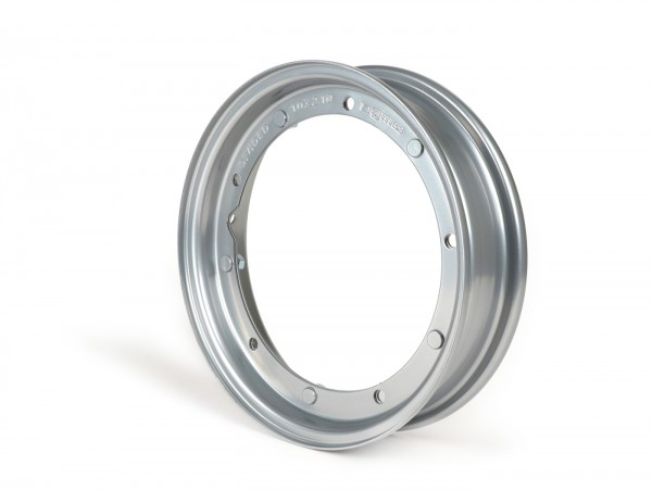 Wheel rim -BGM ORIGINAL 2.10-10', steel V2.0 - Vespa (type PX) - Vespa Smallframe V50, 50N, Special, PV, ET3, PK50-125 (S/XL/XL2), Largeframe PX, T5, Sprint, Rally, GT/GTR, LML Star, Deluxe - grey