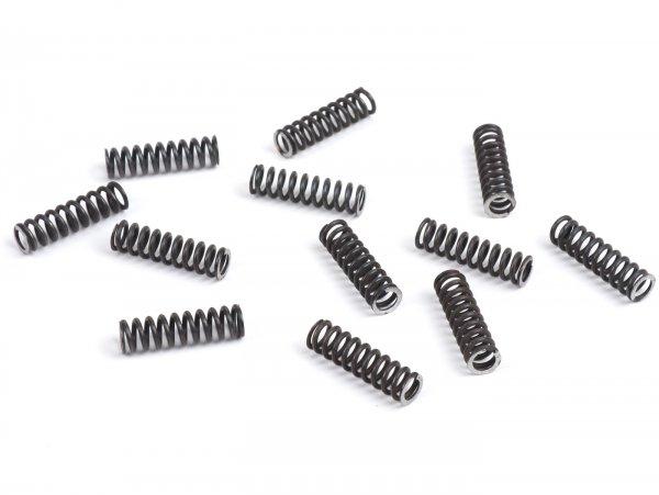 Kupplungsfedern (hart) -STOFFI- passend für 12-Feder Umrüstung für standard Kupplungstyp- Vespa V50, V90, SS50, SS90, PV125, ET3, PK50, PK80, PK50 S, PK80 S, PK125 S, PK50 XL, PK125 XL, ETS, PK50 HP, PK50 SS