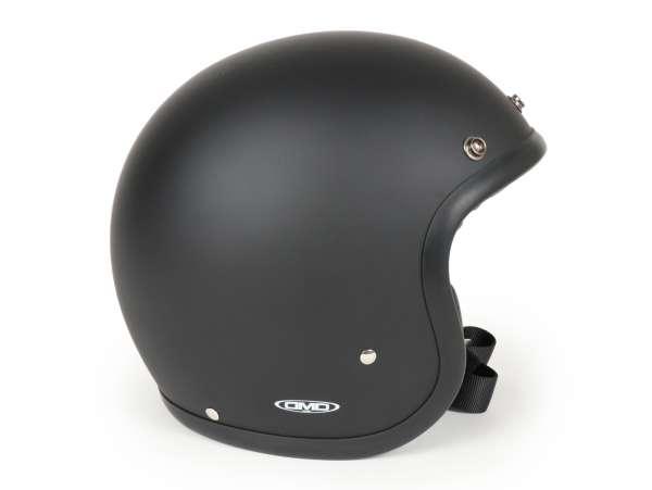 Helmet -DMD Jet Vintage- open face helmet, vintage - Matt Black - XL (60-62cm)