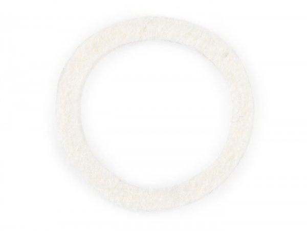 Felt washer for intake manifold/protctive cap -PIAGGIO- Vespa Smallframe - 16mm