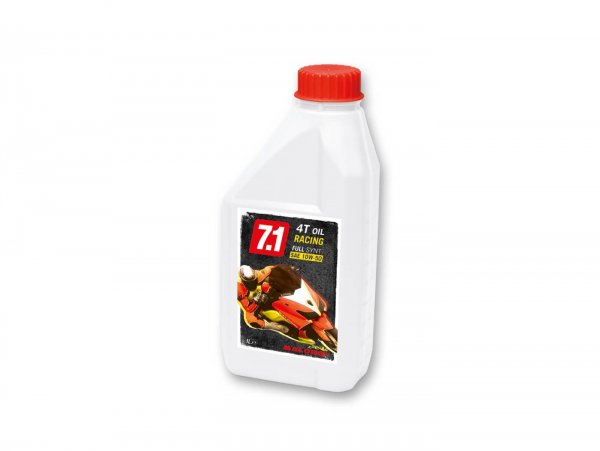 Aceite -MALOSSI 7.1 Racing (SAE 10W-50)- 4-Takt totalmente sintético - 1000ml