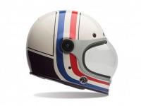Casco -BELL Bullitt Special Edition, RSD Viva- casco integrale, bianco/nero - XXL (62-63 cm)
