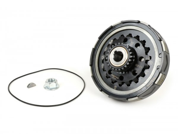 Clutch -BGM Pro Superstrong 2.0 CR80 Ultralube, type Cosa2/FL - for primary gear 64/65 tooth- Vespa PX200, Rally200 - 23 tooth