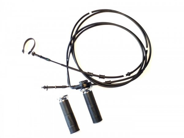 Poignée et câbles d'accélérateur -PIAGGIO- Vespa GTS HPE 300 (ZAPMA3600, ZAPMD310), Vespa GTS Super HPE 300 (ZAPMA360, ZAPMD3100)