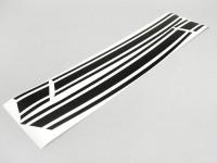 Sticker for side panel -LAMBRETTA- DL, GP - matt black