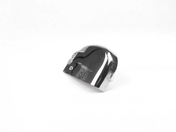 Gear selector box cover -VESPA- PX, Cosa 1° Serie - stainless steel