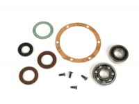 Bearing and oil seal set for crankshaft -BGM PRO FKM- Lambretta DL, GP