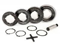 Gearbox (gear cogs only) -BGM PRO- Vespa PX EFL, Disc, My, 2011 (1984-) - PX125 (VNX2T 232053-, ZAPM), PX150 (VLX1T 624602-, ZAPM), PX200 (VSX1T 315267-), Cosa, T5 125cc, LML Star 2-stroke, Stella 2-stroke - 12/57, 13/42, 17/38, 21/35 teeth - origina