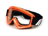 Dirt bike - MX goggles -TNT No-End 3.6- orange