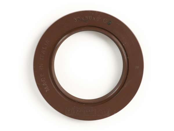 Wellendichtring 33x50x6mm -CASA LAMBRETTA (FKM)- (verwendet für Kurbelwelle Antriebseite Lambretta LI, LIS, SX, TV (Serie 2-3), DL, GP)