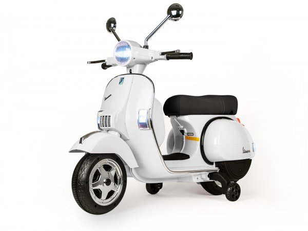 Scooter for kids -Vespa PX150- electric - white