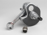 Albero motore -RACING (per immissione lamellare) flusso ottimizzato- Vespa PX125, PX150