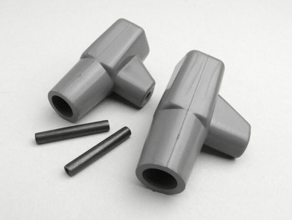 Stand feed rubber -LAMBRETTA- LI, LIS, SX, TV, DL, GP - grey