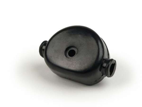 Kabelkästchen Motor -OEM QUALITÄT- Vespa VNB6T, VBB2T (ab 216489), GL150 (VLA1T) (VLA1T ab 070722), Super, GT125 (VNL2T), GTR125 (VNL2T), Sprint150 (VLB1T), Sprint Veloce, Rally180 (VSD1T) - schwarz
