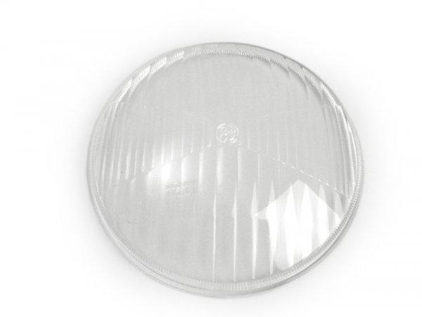 Headlight lens -INNOCENTI Ø=115mm- Lambretta J125 (4 speed)