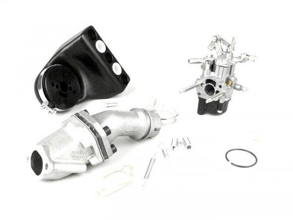 Carburator kit -POLINI 2-stud, 16mm Dellorto SHB, reed valve- Vespa V50