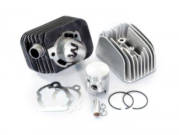 Zylinder -POLINI 63 ccm Racing Ø43mm- Piaggio Ciao (Kolbenbolzen = Ø 10mm)