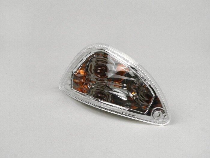 PIAGGIO Blinker VESPA Klarglas 50 125 150 ET2 ET4 Hinten rechts // Weiß