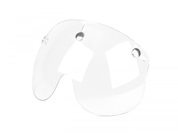 Visor for helmet -BANDIT Jet- short - colorless