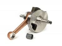 Albero motore -TAMENI Standard (valvola rotante) 57mm corsa- Vespa PX125, PX150