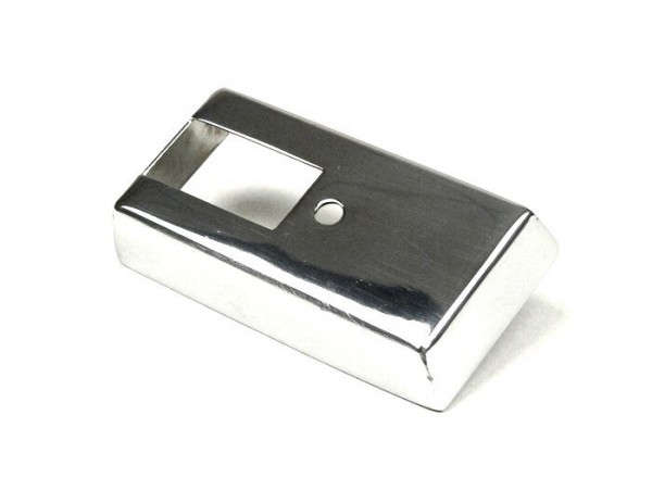 Indicator switch cover -VESPA- PX80, PX125, PX150, PX200 (1984-) - stainless steel