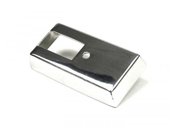 Abdeckung Blinkerschalter -VESPA- PX80, PX125, PX150, PX200 (ab Bj. 1984) - Edelstahl