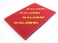 Air filter -MALOSSI Double Red Sponge- universal foam- 297x420mm