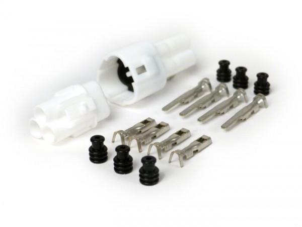 Stecker-Set für Kabelbaum -BGM PRO- Typ Serie 090 SMTO MT Sealed, Bihr, 3 Steckkontakte, 0.85-1.25mm², Wasserdicht-