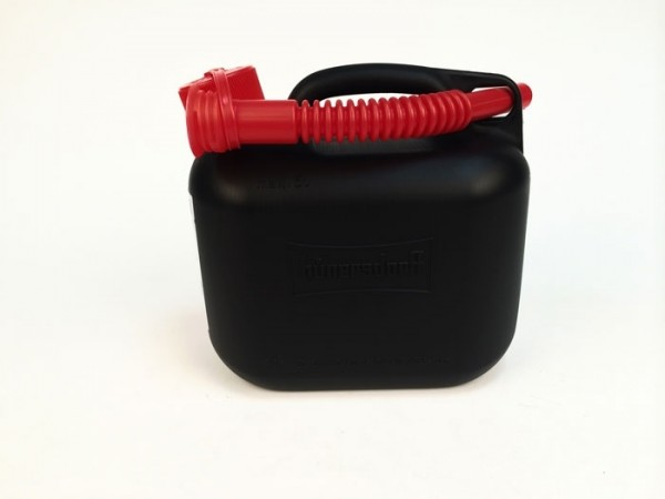Bidón de gasolina 5l -HÜNERSDORFF- negro
