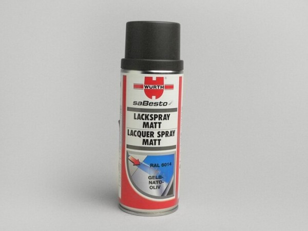 Lack -WÜRTH- Nato-Oliv matt - 400ml