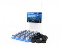 Kit rulli-POLINI qualità premium 16x13mm- 2.5-3.0-3.5-4.0g