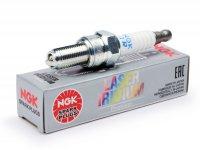 Spark plug -NGK MR- Laser Iridium Premium MR7BI-8 - Vespa GTS300 HPE (2018-) -(ZAPMA360, ZAPMA3600, ZAPMA3602, ZAPMA362), Piaggio MP3 HPE 300/500 (ZAPTA2100, ZAPTA1202, ZAPTA1204)