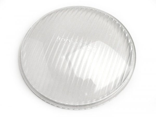 Headlight lens -INNOCENTI, Ø=105mm- Lambretta A, B, C, LC, D, LD, E, F, J50, J100, J125 (3 speed)