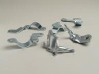 Shock absorber mount upper + lower -CASA LAMBRETTA Clip on- Lambretta LI, LIS, SX, TV, DL, GP