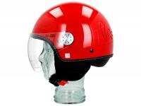 Casque -VESPA Visor 3.0- rouge mat (894) -