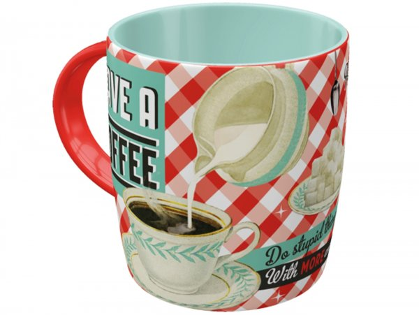 "Mug -Nostalgic Art- ""Have A Coffee"", Ø=85mm x 90mm, 340ml"