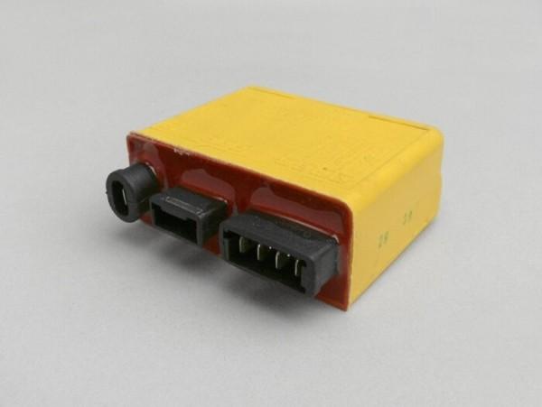 CDI -PIAGGIO- Vespa ET4 (ZAPM0400 - para modelos sin inmovilizador o para anularlo), Piaggio Sfera 125 RST (ZAPM01000), Liberty 125 (ZAPM011000), Hexagon 125 4T (ZAPM15000), Aprilia Mojito Retro 125 (ZD4PM - motor Piaggio)