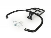 Topcase support rear (for original Piaggio Topcase) -MOTO NOSTRA- Vespa GT, GTL, GTV, GTS, GTS Super, GT60 - 125-200-250-300cc - matt black