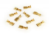 Crimp terminal -female spade connector 6.3mm Ø=1.0-1.5mm²- DIN 46340 - 10 pcs