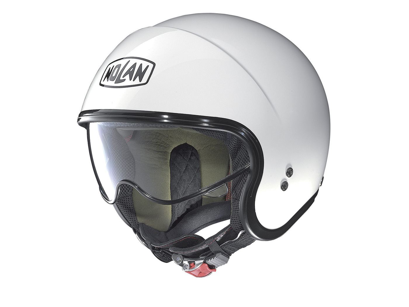 86e7e95e Helmet -NOLAN, N21 Classic- open face helmet, metallic white -   Helmets    Riders gear   Scooter Center