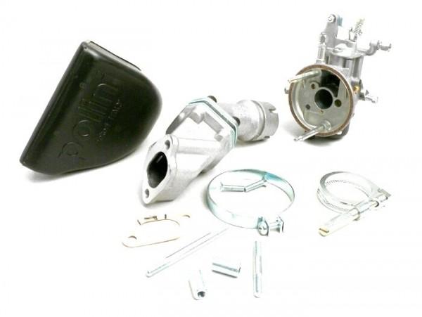 Carburator kit -POLINI 2-stud, 19mm Dellorto SHB, reed valve- Vespa V50, PV, ET3