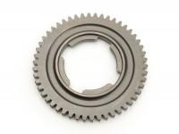 3rd gear cog -OEM QUALITY, 4-speed gearbox- Vespa V50, V90, 50N, PV125, ET3, SS50, SS90, PK S, PK XL1, PK XL2, ETS - 50 teeth