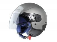 Helmet -VESPA PJ- open face helmet, grey - XS (52-54cm)