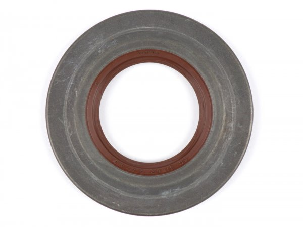 Oil seal 31x62,1x5,8/4,3mm -BGM PRO FKM/Viton® (E10/etahnol resistant) Metall, braun (used for crankshaft drive side Vespa PX (since 1984), T5 125cc, Cosa)