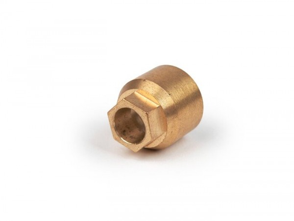 Coupling nut for speedo cable -OEM QUALITY- Vespa GS160 / GS4 (VSB1T), SS180 (VSC1T)