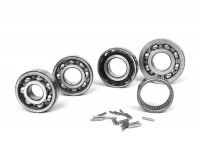 Ball bearing set for engine -SCOOTER CENTER- Vespa Largeframe Rally200 (VSE1T -33996, Femsatronic)