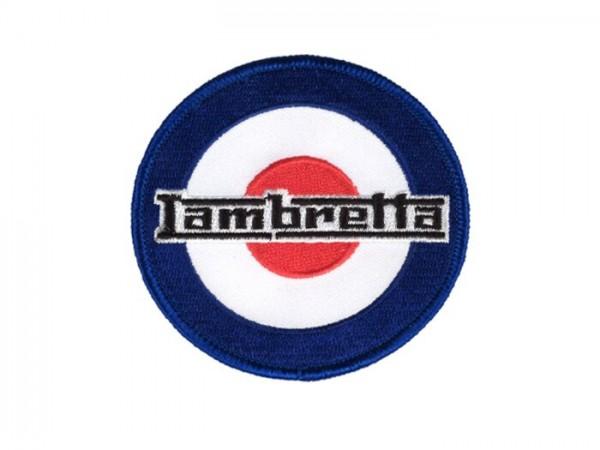 Patch  -Lambretta Target- Ø=80mm