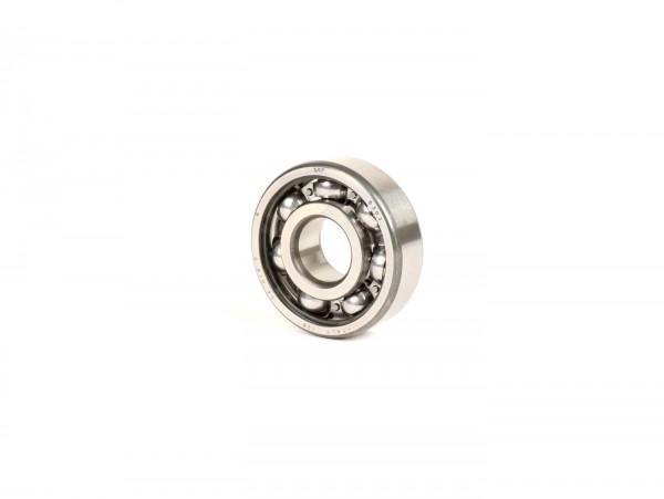 Ball bearing -6303- (17x47x14mm) - (used for crankshaft, drive side Vespa V50, V90, PV125, ET3, PK S, PK XL, Lambretta Lui, J)