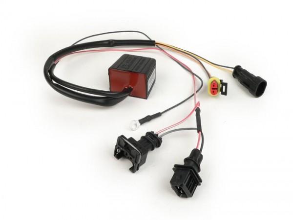Emulador sonda lambda -MALOSSI TC Unit O2 Controller- Piaggio Quasar 300 LC i.e., LEADER 125 LC i.e. 4T - Vespa GTS Super, GTS Super Sport 125cc i.e., GTS, GTS Super, GTS Super Sport, GTV i.e. 300cc